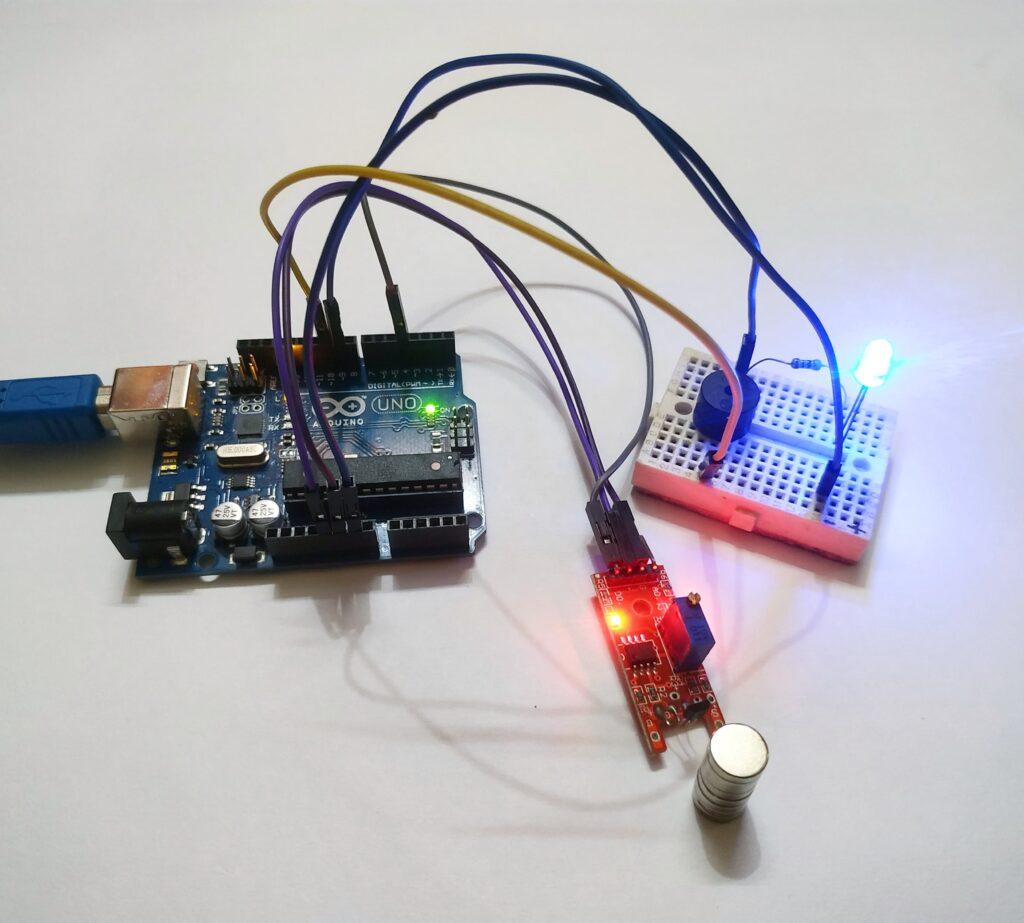hall effect arduino
