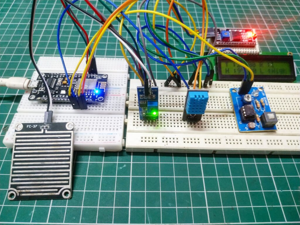 iot weither monitoring system