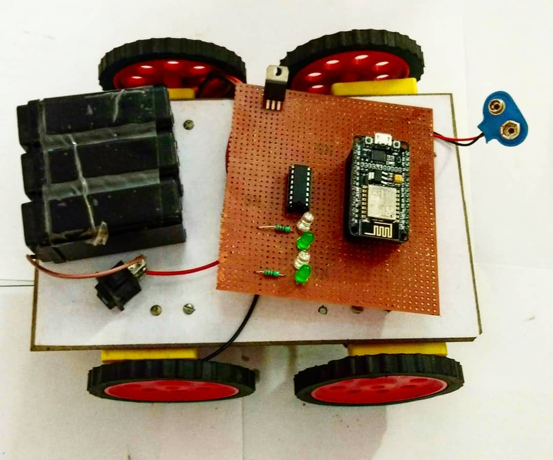 wifi controlled robot