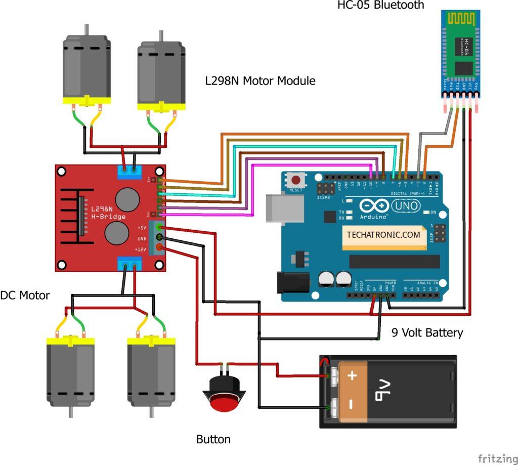 spy robot using arduino