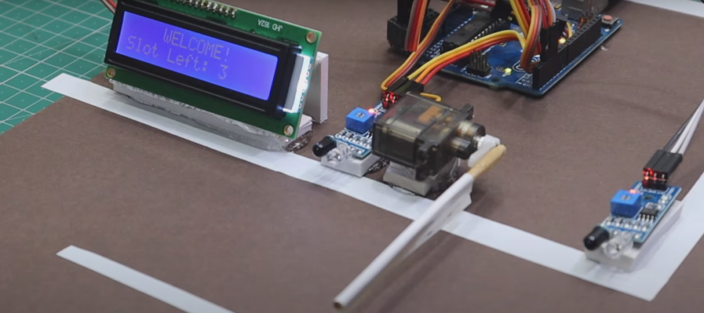 automatic car parking system project