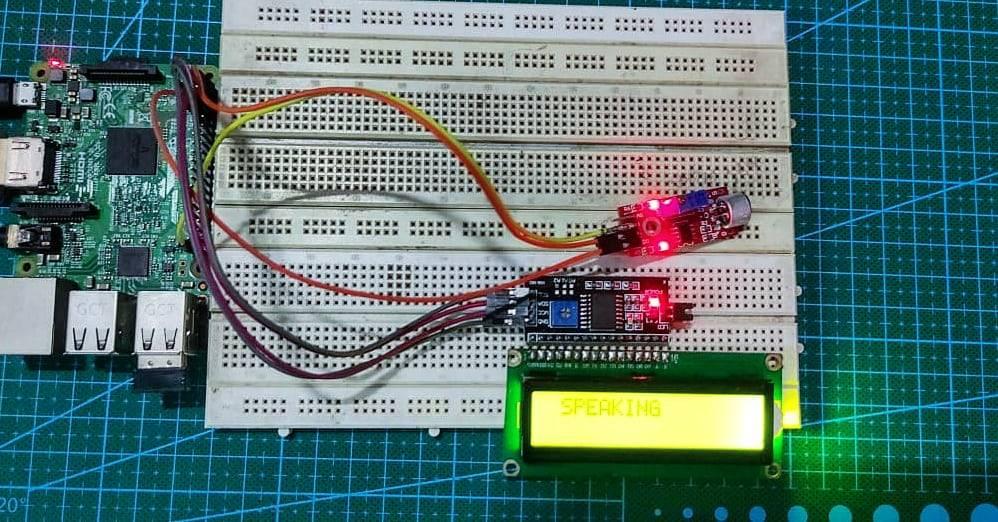 sound sensor with raspberry pi